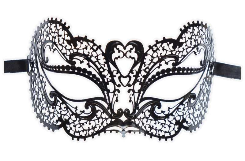 Metal Lace Venetian Mask 'Timea'