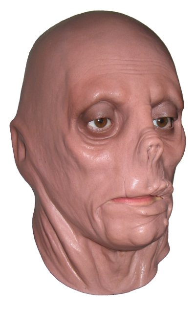 'Mummified Head' Horror Latex Mask