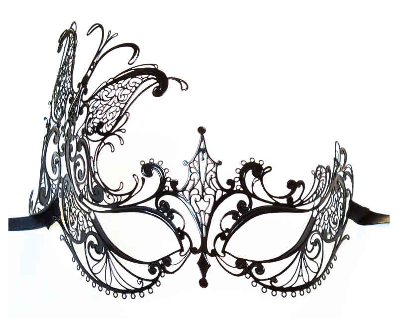 Luxurious Metal Mask Venice 'Anabelle'