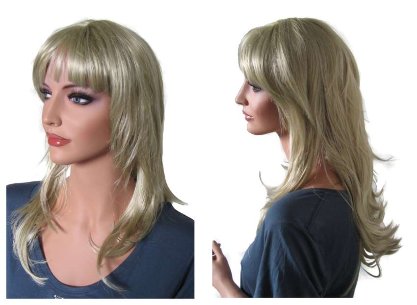 Womans Wig in Butterscotch Blond 55 cm