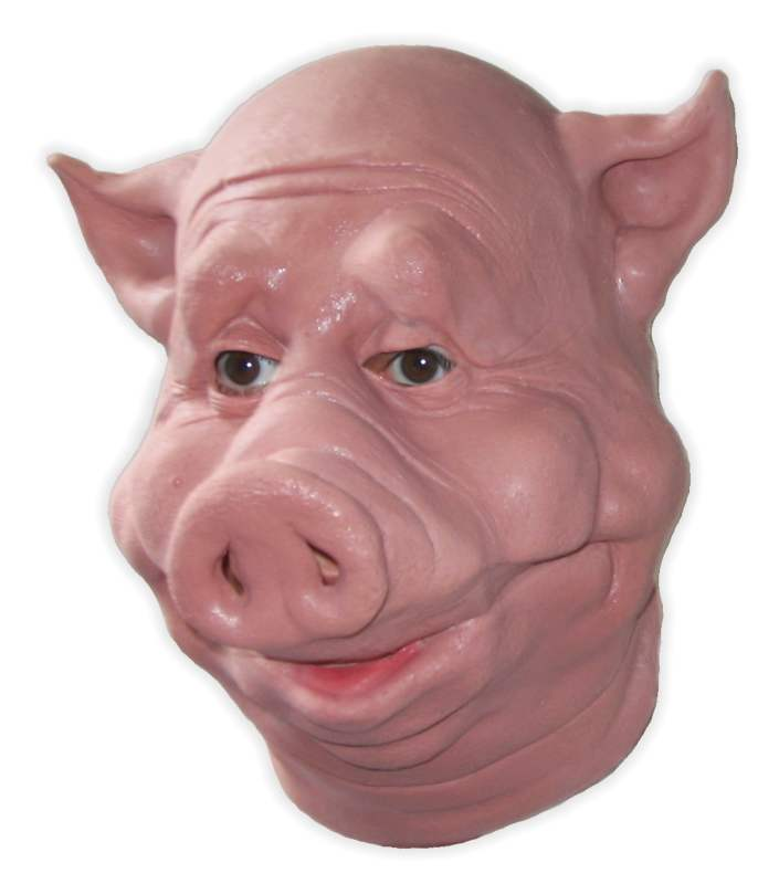 Pigface Latex Mask