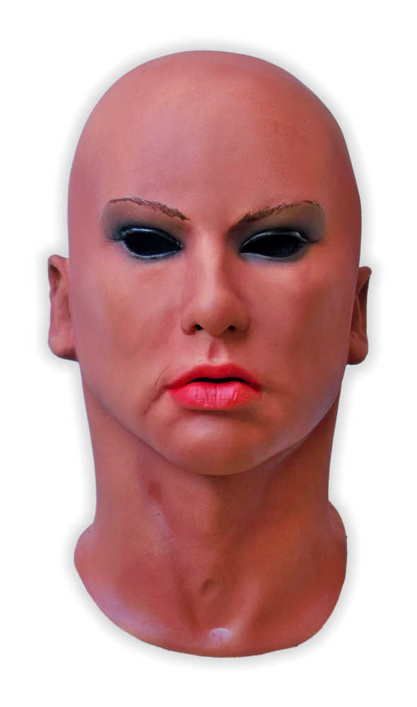 Realistic Latex Female Face Mask 'Lora'