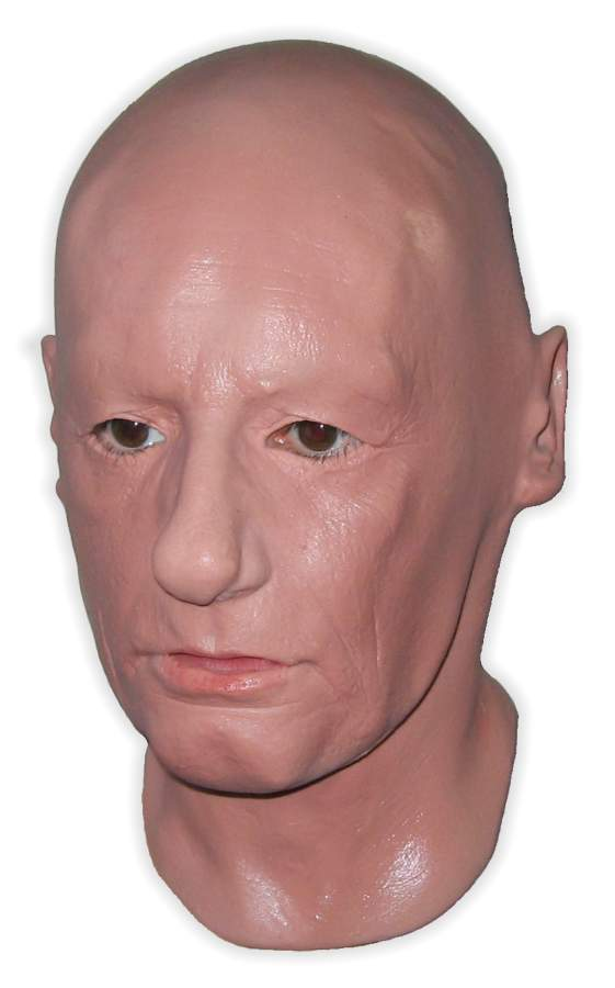 Latex Real Face Mask 'Doctor'