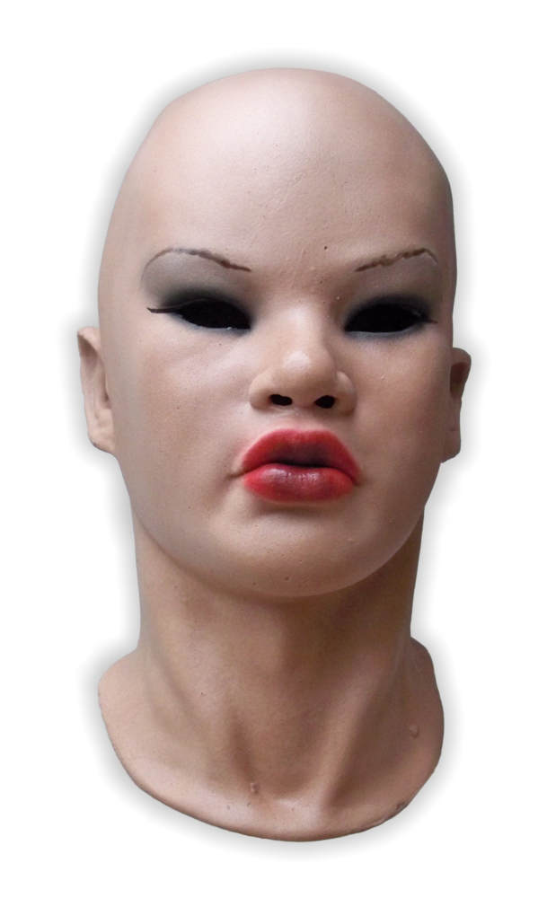 Realistic Female Latex Face Mask 'Hanna'