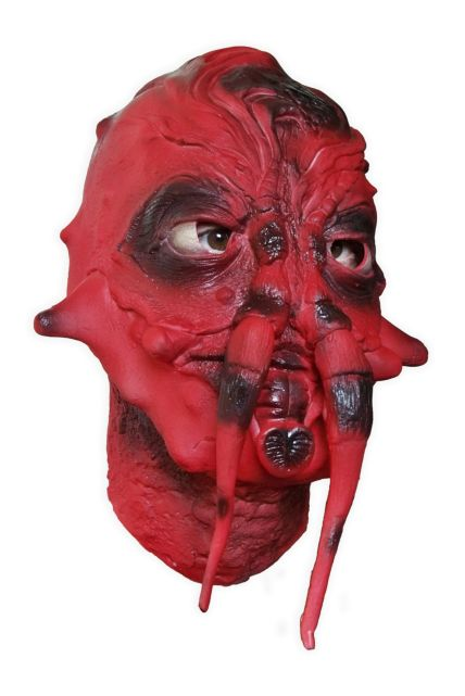 Red Tentacle Mask