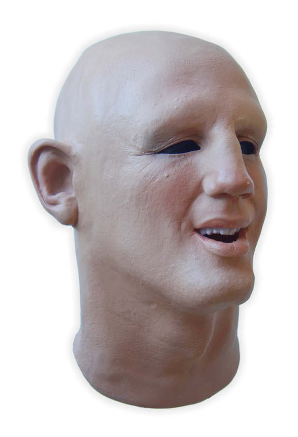 Full over the Head Realistic Mask Latex 'Ben'