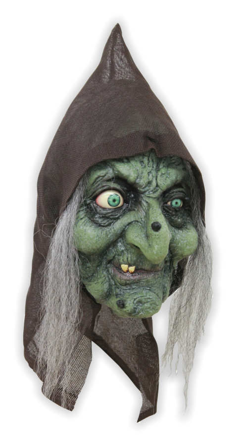 Green Witch Latex Mask