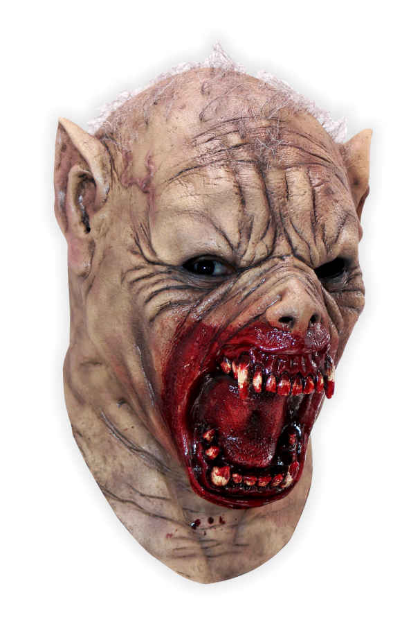 Werwolf Horrormaske aus Latex