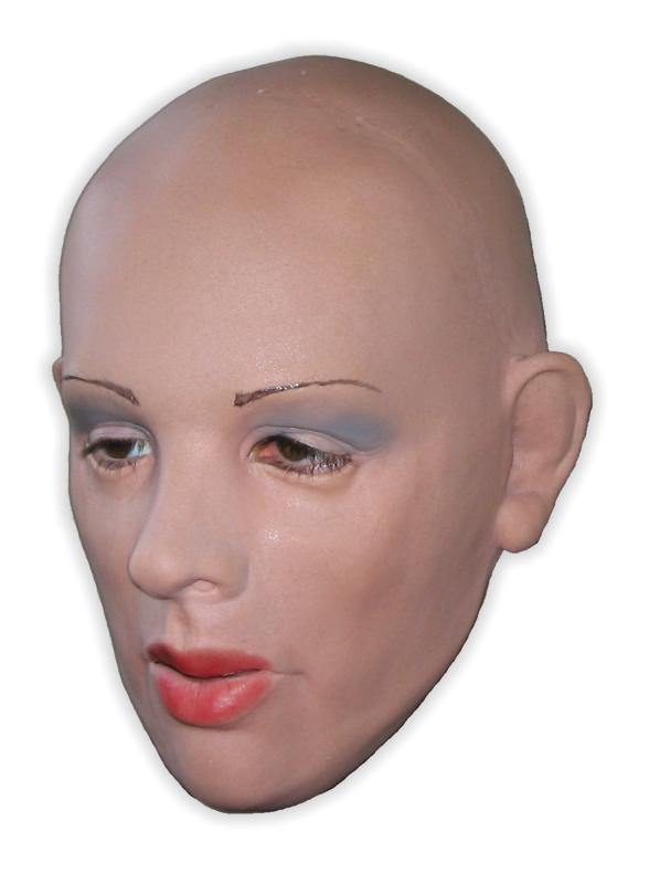 Woman's Face Rubber Hood