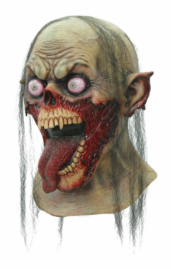 Zombie Tongue Latex Mask